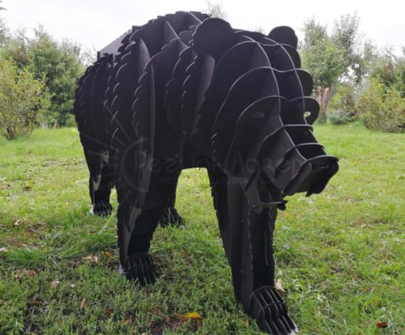 """Металлоизделия/Эксклюзивный мангал """"Медведь"""" вид 2"""