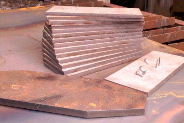 Плазменная резка/черная сталь 20 мм и нержавейка 10 мм