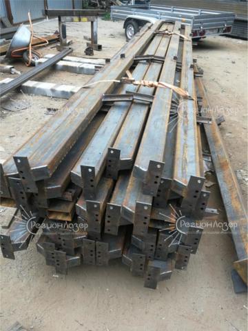 Металлоконструкции/подготовка к покраске ( 6 метров) тип 2